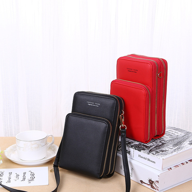 Crossbody Cell Phone Shoulder Bag Arrival Cellphone Bag Fashion Daily Use Card Holder Mini Summer Shoulder Bag for Women Wallet 2