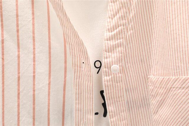 Купить полосатые женские блузки рубашки туники женские топы и 2020 картинки цена