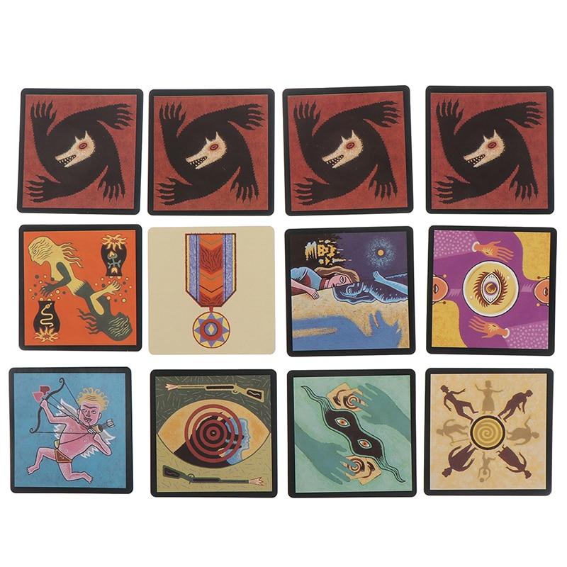 Lupo mannaro E Gatto Tarocchi Card Deck Gioco Da Tavolo Inglese Divertente Deck Carte da gioco di Regalo Scatola di Famiglia Divertente Intrattenimento Gioco Da Tavolo