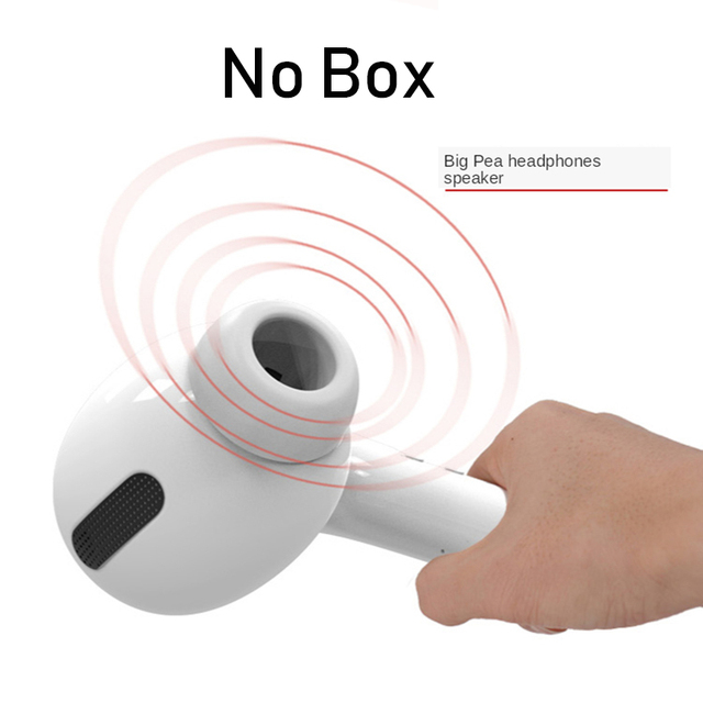 Gro/ße Lautsprecher-Maxi-Headset-Lautsprecher F/ür Airpods Pro Modell Audio Geschenk Lautsprecher