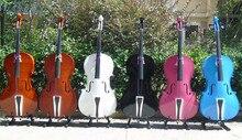 full wooden cello  for children 1/8  1/4   2/4  3/4