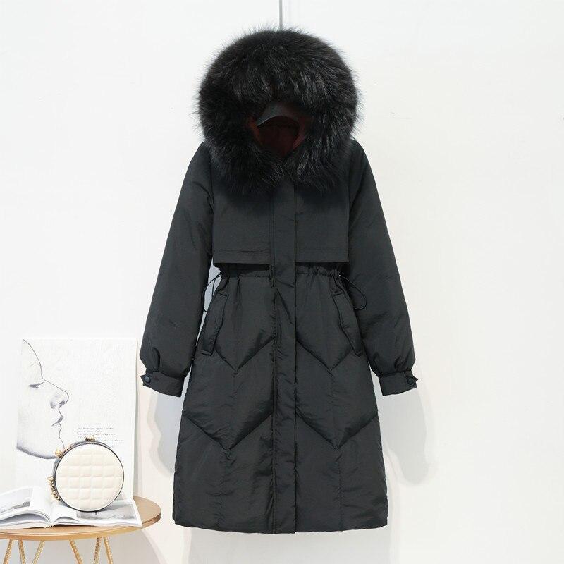 Adjustable Waist Women's Down Jacket Coat Women's Sweaters/Coat