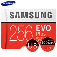 SAMSUNG EVO Plus Micro SD Karte 128GB 64GB 32GB 512GB 256GB Micro SD 128gb flash Speicher Karte SD Speicher U1 U3 4K Microsd TF Karten