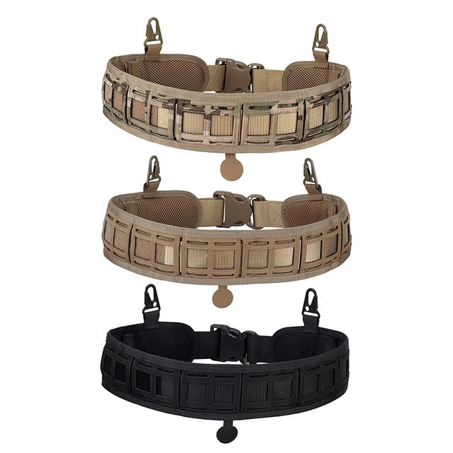 Tactical Waist Belt Water Resistant Adjustable Training Waistband Support For Molle System 3