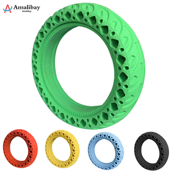 Durable Tire for Xiaomi Mijia M365 MI Scooter Tyre Solid Hole Tires Shock Absorber Non-Pneumatic Tyre Damping Rubber Tyres Wheel