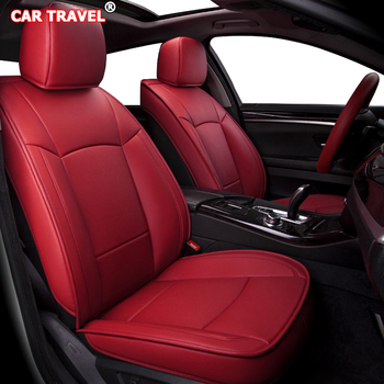 Make Custom Leather car seat cover set For JEEP Compass Wrangler Patriot Cherokee Grand Cherokee Commander Renegade car sears