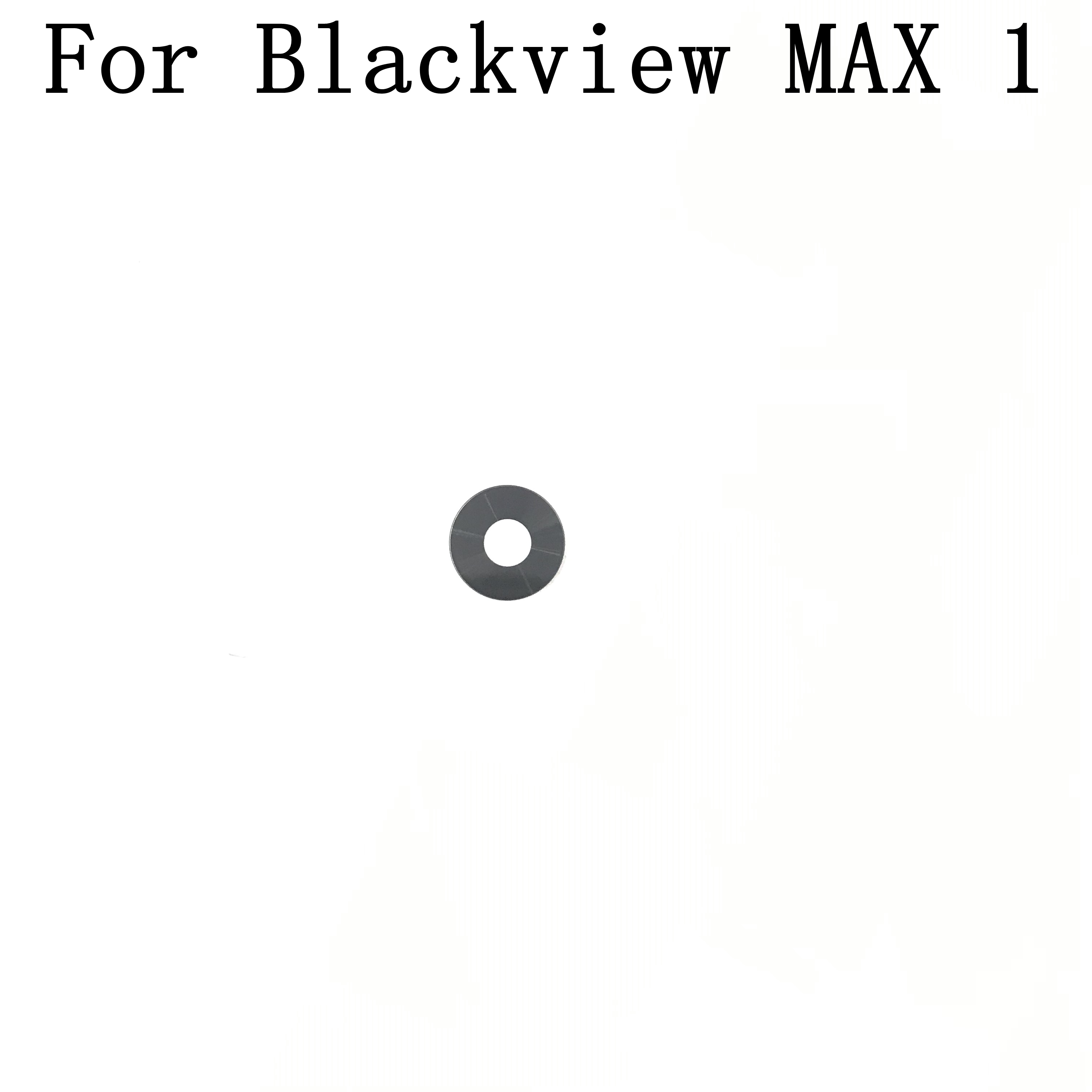 Blackview MAX 1 New Original Camera Glass Lens Rear Cover For Blackview MAX 1 Repair Fixing Part Repla