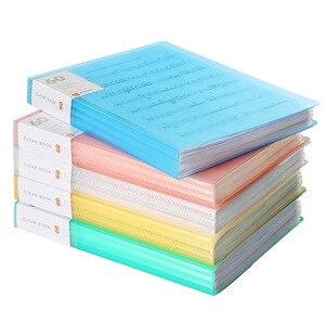 A4 вставка папки дисплей книга вставка папки хранения документов сумки для музыкального листа банк кампуса офисный файл информационный бук...