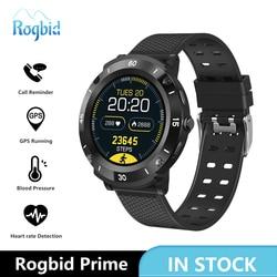 Rogbid Prime Smart Watch Men Full Touch Screen Waterproof Sports Smartwatch Women FPC Bluetooth Heart Rate Read Notifications