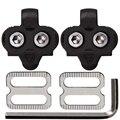 Велосипедные клипсы с шестигранным гаечным ключом 4 мм  совместимы с обувью Shimano Spd с 2 отверстиями  обувь для велосипеда  велосипедная планка...