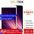 Srjtek LCD para LG G pad 8,3 v500 pantalla táctil digitalizador Sensor de cristal montaje versión Wifi piezas de repuesto con marco