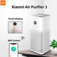 Xiaomi Mi Air Purifier 3 MIJIA Formaldehyde Cleanner Automatic Home Air Fresher Smoke Detector Hepa Filter APP Remote Control