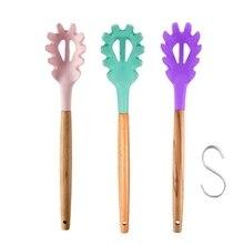 Kitchen Gadget Scoop Noodle-Spoon Pasta Spaghetti-Ladle Colander Slot Practical