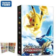 432 pièces 9 Poche Pikachu Dossier Carte Album Carte Pokémon Dessin Animé VMAX GX Jeu Porte-Carte Livre de Collection Chargé Liste Jouets Pour Enfants Cadeau