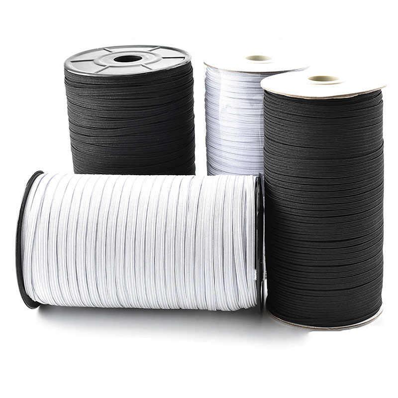 Cinta elástica blanco goma elástica 12mm 2m 5m 10m 20m 1,2cm cinta elástica