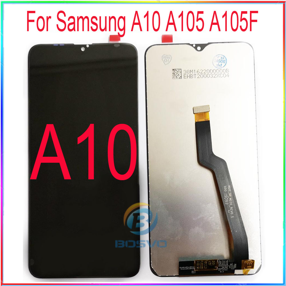 for <font><b>Samsung</b></font> A10 <font><b>LCD</b></font> <font><b>M10</b></font> <font><b>screen</b></font> display A105 M105 with touch with frame assembly Replacement repair parts image