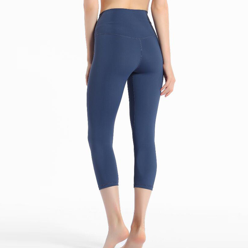 2020 Women high waist capris sports gym sexy tummy control capris super quality 4 way stretch leggings