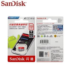 Image 5 - بطاقة ذاكرة سانديسك 256GB 200GB SDXC فئة 10 TF بطاقة 128GB 64GB ماكس سرعة القراءة 98 متر/الثانية Microsd A1 UHS I بطاقة ذاكرة مايكرو SD