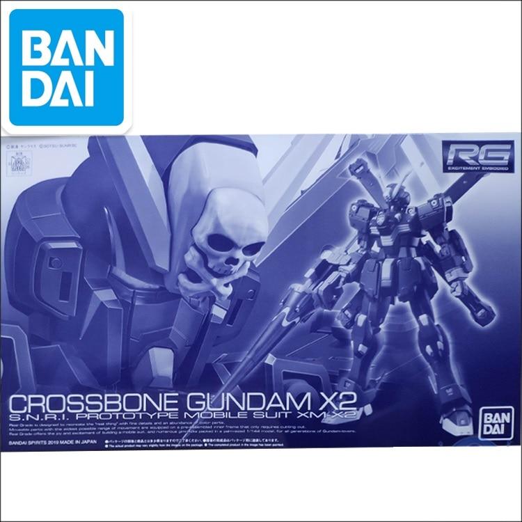 Original Gundam PB RG 1/144 Model CROSSBONE GUNDAM X2  XM-X2(F97) Unchained Mobile Suit Kids Toys
