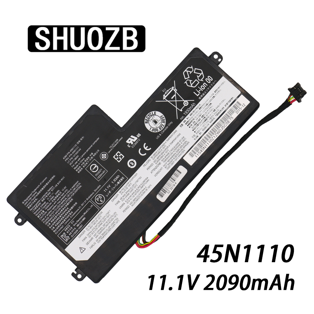 NEW Internal Laptop Battery For Lenovo ThinkPad T440 T440S T450 T450S X240 X250 X260 X270 45N1110 45N1111 45N1112 11.1V 24WH