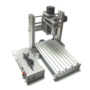 Image 2 - CNC router engraver machine 3020 3axis 4axis 5axis aluminum alloy frame ball screw and limited swith Mach3 control for drillinng