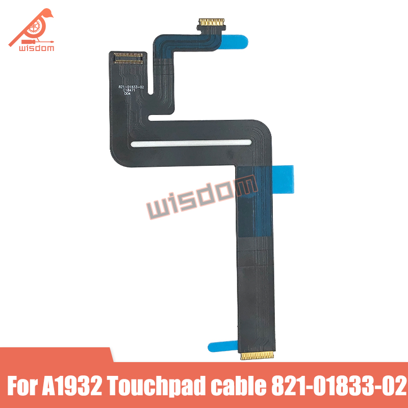 New Cable <font><b>A1932</b></font> <font><b>Trackpad</b></font> Cable for Macbook Air Retina <font><b>A1932</b></font> Touch pad Track pad Cable 821-01833-02 2018 Year image