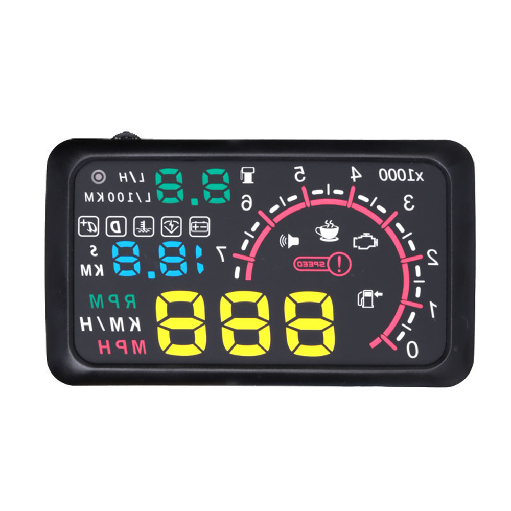Universal 5.5 Inch Car HUD Head Up Display OBDII Interface 5.5