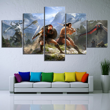 5 Piece Games Art Print Conan Exiles Poster HD Wall Picture Canvas Paintings Fantasy Home Decoration Frame Artworks Cuadros