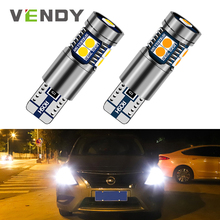 1x W5W T10 Car LED Clearance Light For toyota hilux avensis t25 fj cruiser wish camry corolla chr auris yaris Lamp Bulb Canbus 2x canbus car led light interior bulb lamp w5w t10 for toyota corolla chr auris yaris rav4 hilux avensis t25 mazda 6 gg gh cx 5