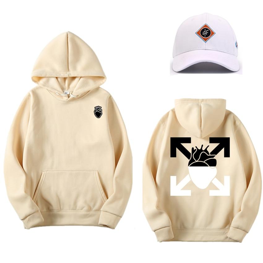 Brand New Hoodie Men And Women Screw Thread Cuff Hoodie Multiple Styles Funny Hoodies Sweatshirt Hip Hop Streetwear Hoodie Men