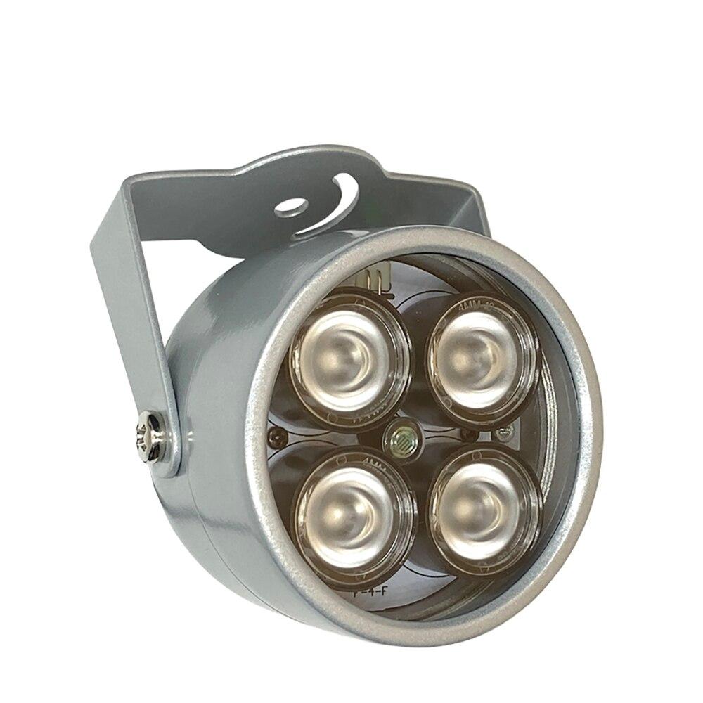 Светодиодный мини-светильник для видеонаблюдения S 4, Инфракрасная подсветка, инфракрасный водонепроницаемый светильник для ночного виден...