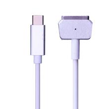 USB typu C C Femal do magsafe * 1 2 kabel przewód Adapter do Apple MacBook Air MacBook Pro 45W 60W 85W 12 13 15 #8243 tanie tanio jiansu NONE CN (pochodzenie) 16 v 3 25A Dla apple For Apple MacBook Air MacBook Pro For MacBook Air Computer power cord