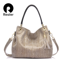Realer frau handtaschen aus echtem leder tasche weibliche hobos schulter umhängetaschen hohe qualität leder totes frauen umhängetasche