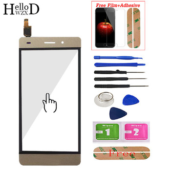Touch Screen For Huawei P8 Lite Touch Screen Glass Digitizer Panel Lens Sensor Front Adhesive Screen Protector 5 new touch screen for huawei g610 c8815 digitizer front glass lens sensor panel replacement repair
