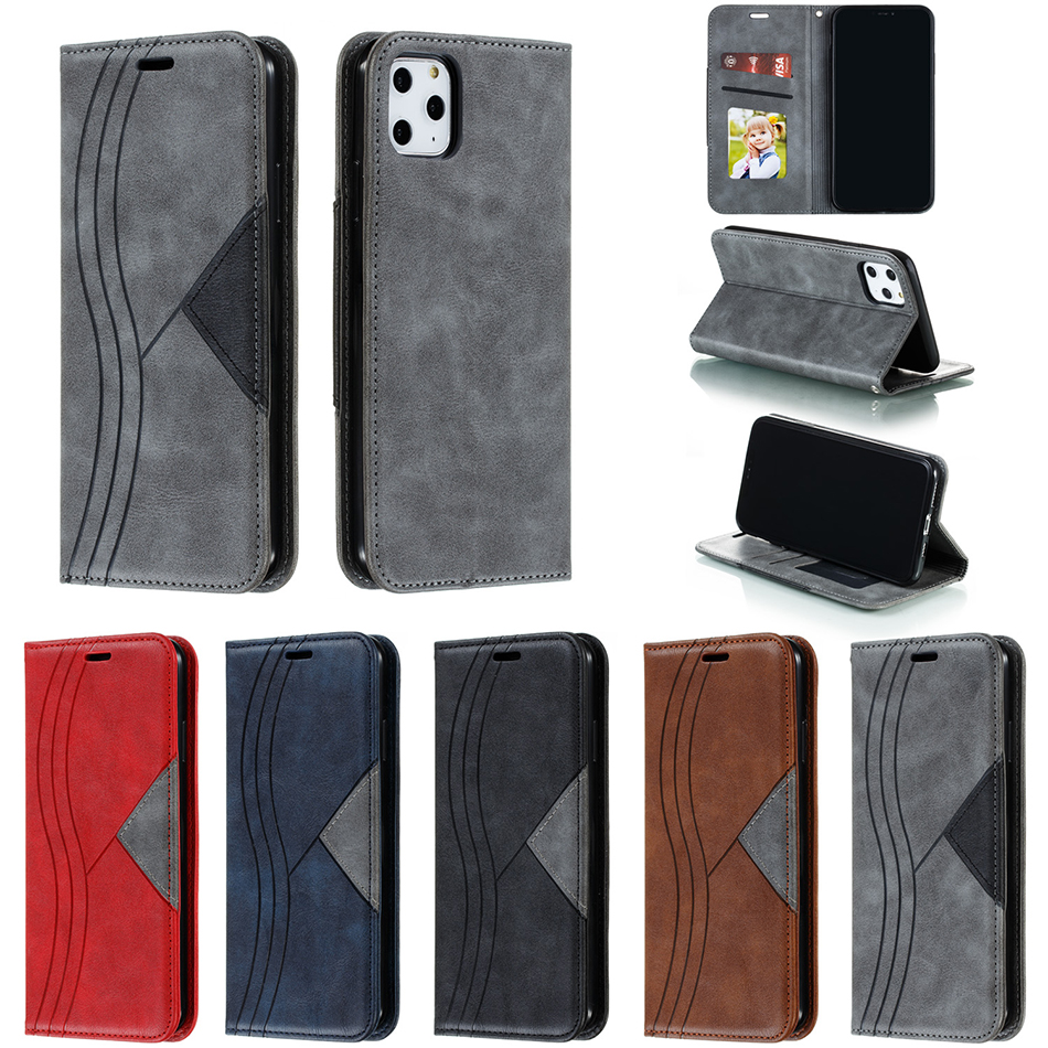 Leather Case For <font><b>Samsung</b></font> Galaxy A10s <font><b>A10</b></font> S7 Edge S8 Plus S9 S10 S10e Protection Cover Note 9 Case Flip Wallet Card Holder <font><b>Coque</b></font> image