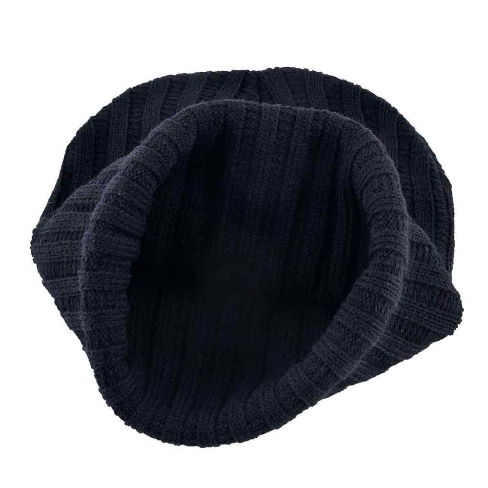 TQMSMYหมวกฤดูหนาวสำหรับผู้ชายและผู้หญิงแฟชั่นถักBeanieกับหมาป่าPatch Warm Double LayerถักSkulliesหมวกHip hop TBLT
