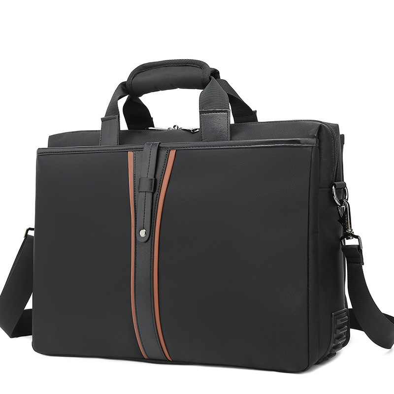 Brand Business Briefcase 15.6 Inch Laptop Bags Oxford Cloth Multi-function Waterproof Handbags Business Portfolios Travel Bags