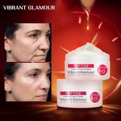 VIBRANT GLAMOUR Collagen Pure Face Cream Anti Aging Wrinkle Lift Firming Anti Acne Whitening Moisturizing Nourish For Women 1pcs
