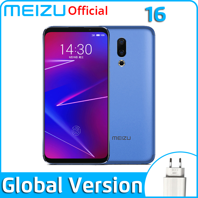 Meizu 16 6G 64G 128G Global Version Mobile Phone Snapdragon 710  Octa Core 6