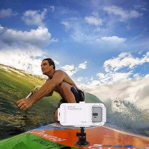 Image 5 - Cadiso 45 m/147ft caisson étanche de plongée logement Photo vidéo prenant la couverture sous marine pour Galaxy Huawei Xiaomi avec Port type c