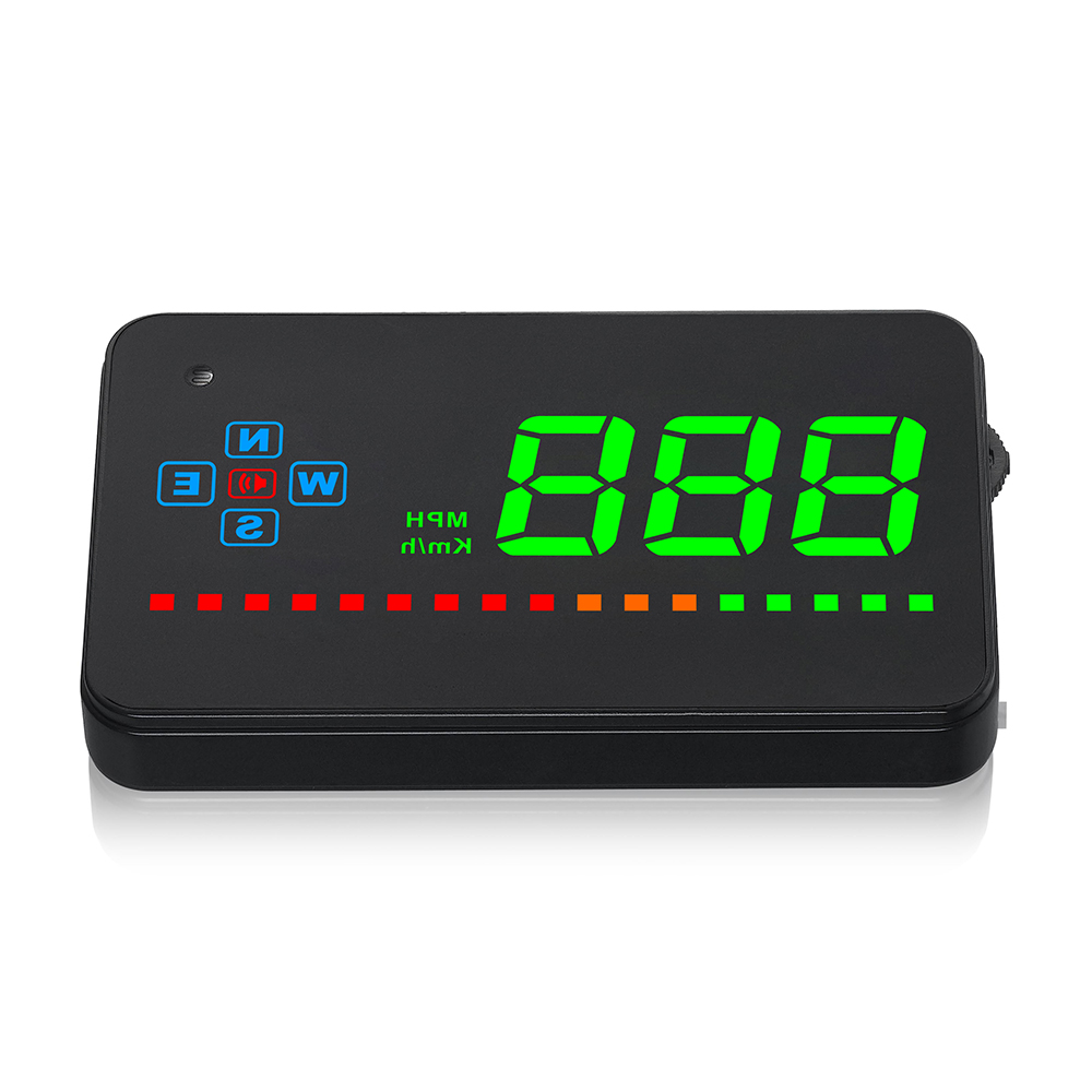 Car HUD Compatible All Car Speed Projector GPS Digital Car Speedometer A2 Electronics Auto Head Up Display Windshield Projector