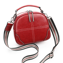 Red Crossbody Bags For Women Double Shoulder Strap Split Leather Girls Cross Design Small Handbag Ladies Messenger Bags Female цена 2017