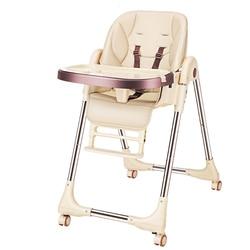 Baby fütterung stuhl PU stuhl kinder tabelle high stuhl fütterung stuhl