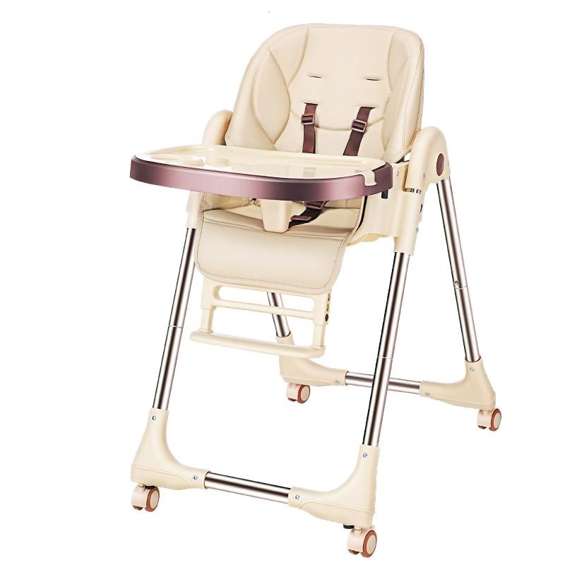 Baby Feeding Chair PU Chair  Kids Table High Chair Feeding Chair