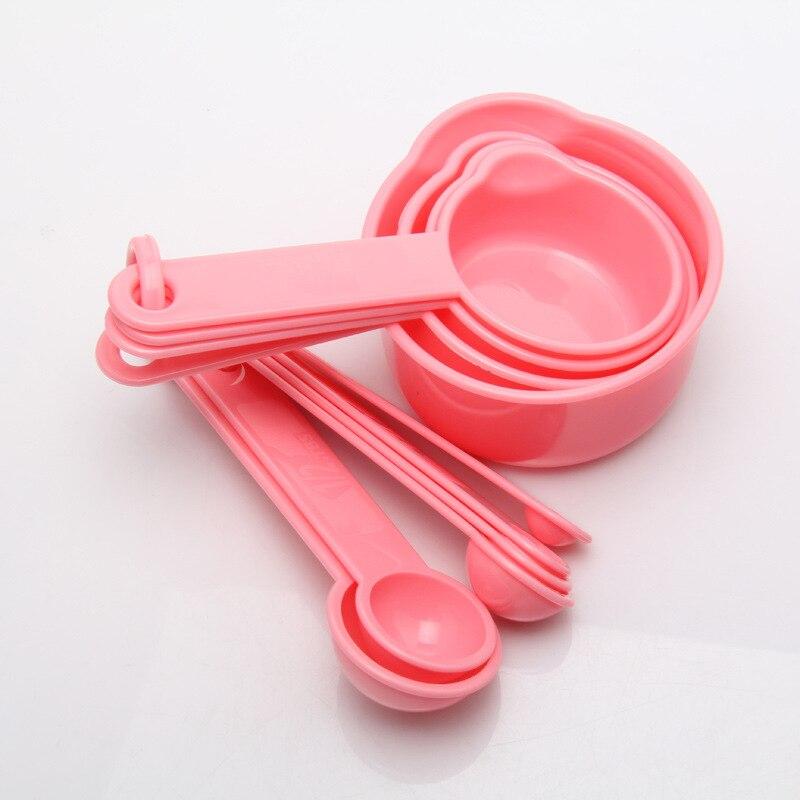 10 шт./компл. многофункциональные портативные полипропиленовые пластиковые аксессуары для выпечки мерная ложка кухонные гаджеты 2 цвета