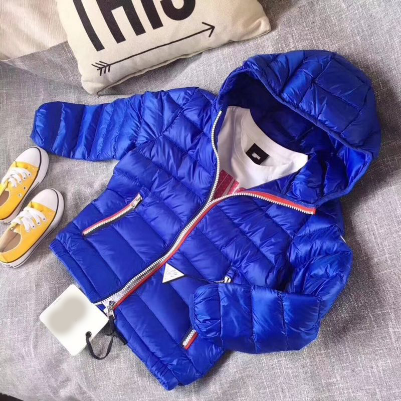 2019 New Boy And Girl Down Coat Thin Jacket Fashion Children's Clothes