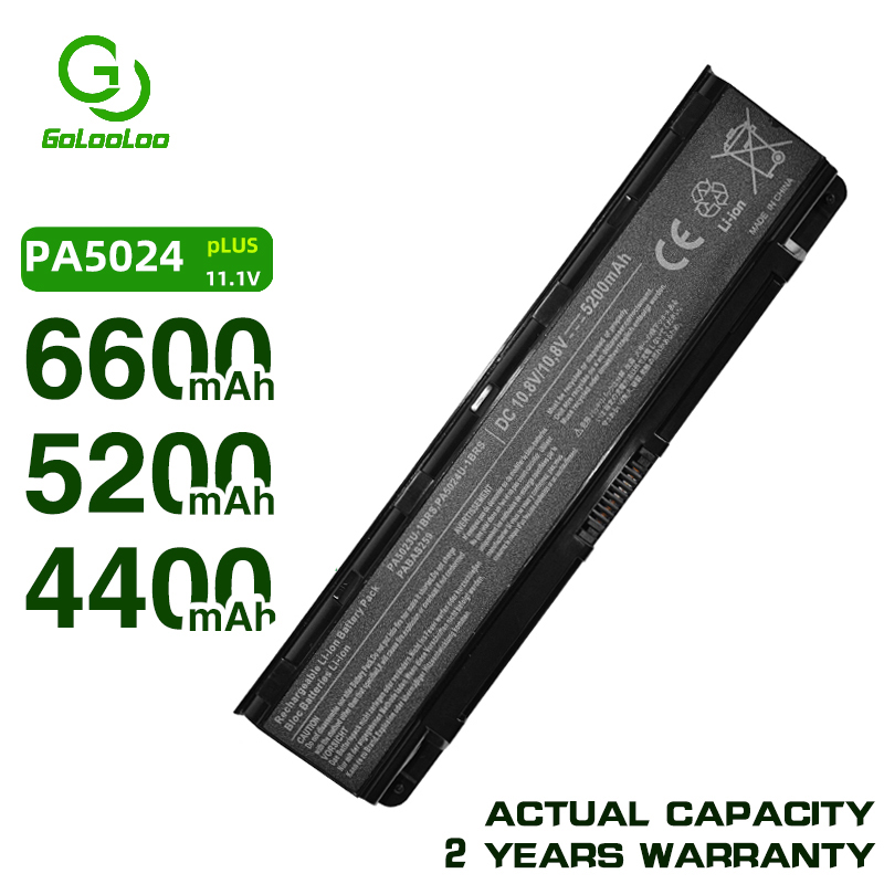 Golooloo 6 cells Battery for <font><b>Toshiba</b></font> <font><b>Satellite</b></font> l805D L830 L835D L830D L840D L845 L870D L855 L870 L875 L875D M800 PA5024U-1BRS image