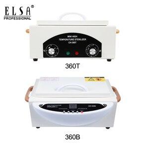 Image 4 - High Temperature Sterilizer Box Nail Art Salon Portable Sterilizing Tool Manicure Tool Dry Heat Sterilizer In RU Warehouse