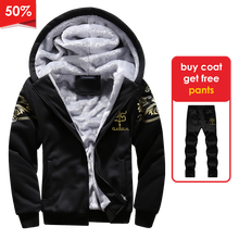 Mens Jackets Hoodies Coats Streetwear Casual Fashion Thick And Outdoors Winter