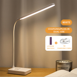 Desk Lamp Usb Charging Led Eye Protection Dimmable Reading Light Student Study Child Light Touch Switch Folding Table Lamp